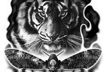 Tigris tattoo