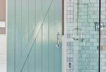 bagno con vetrina