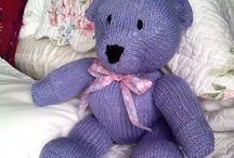 Derecho/ Revés/Knit /purl / Mis juguetes tejidos Mi Guru Bernadette Ramboldt