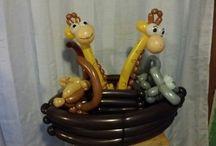 palloncini animali giraffa