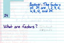 School - Math / ideas for math notebooking, strategies, and more / by Stacy Osment