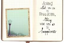 art journaling inspiration / by Rebekah Rainer
