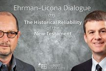 Ehrman–Licona Dialogue on the Historical Reliability of the New Testament / Bible scholars Bart Ehrman (Atheist) and Mike Licona (Evangelical Christian) dialogue on the historicity, accuracy, authorship, and veracity of the New Testament and its depiction of Jesus' resurrection.