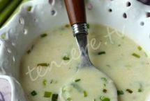 çorbalar yapıyor serpiş
