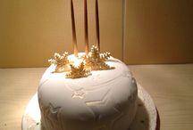 Xmas cakes / Home made xmas cakes