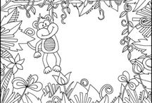 Coloring Pages / by Savana Brown
