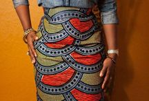 African print fashion / Afro Fashion Chick