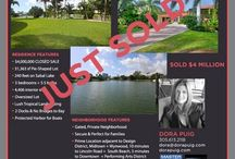 SOLD by Dora Puig / Miami's leading Luxury Real Estate Broker with 24 years of experience and over $1.5 billion in sales.