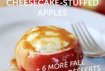 Recipes - Fall