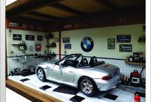 Diorama Carro BMW Z3 - CAIXA -  43L x 20C x 23H