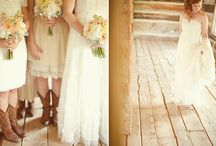 Weddings..A Little Bit Country / Wedding and reception ideas with a country flair / by Carole Lesly