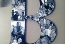 Photos on Letters / by Kelly Wermelskirchen