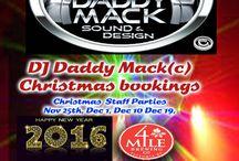 DJ Daddy Mack(c) Sound & Design Christmas NYE bookings / DJ Daddy Mack(c) Chritmas Party bookings & NYE @ 4 Mile Pub Victoria BC