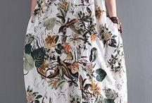 robe été fleurir