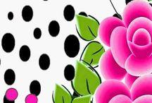 adesivo florais