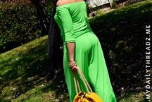 GREEN ITY Off Shoulder Jumpsuit! / Merging of patterns to create fabulousness for Spring