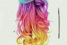 Fargelegging av hår