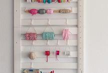 Craft office / by Ladymajan