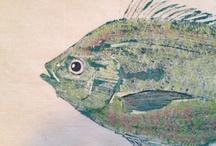 Gyotaku / Japanese Fish Printing