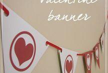 valentine love. / by Audrey Partin
