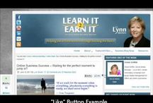 My Videos - Social Media and Blogging Tips / YouTube Channels:  Learnit2Earnit  or  LinkedinMarketingMgr