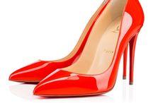 Escarpins vernis rouge