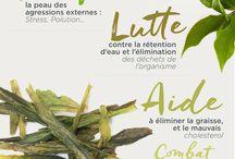 Bienfaits des tisanes et thés / Les plantes bio ont différentes propriétés qu'il est intéressant de connaître.