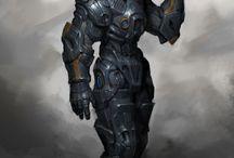 Armors and stuff