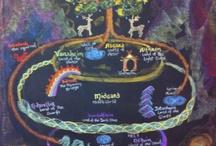 vierde klas Noorse mythologie