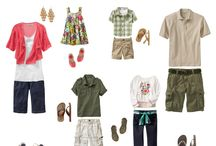 "WHAT TO WEAR??  / A variation of ideas for the infamous question of ""What should we wear?"" for family portraits.  Hope this helps! / by Marcia Todd"