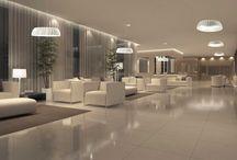 Hotelli valaistus /  Hotellien ja ravintoloiden valaisimia