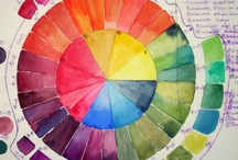 Colour Wheels and Palettes / Kolory