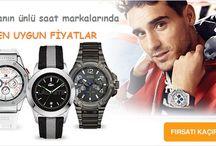 MARKA SAATLER / Dünyaca ünlü saat markaları burada.