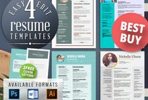 FREE EDIT - 4 Resume Templates + 2 FREE Cover Letter Templates / 4 Resume Templates Bundle + 2 FREE Cover Letter Templates - professional design, creative resume template. Modern resume template. Teacher resume.   https://www.etsy.com/listing/222367889/free-edit-4-resume-templates-2-free?ref=shop_home_active_1