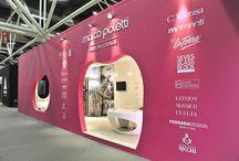 """Novità Cersaie 2015 / Eleganti e Glamour, le nuove Collezioni di Paul&Co Ceramiche, esposte alla """"Marco Poletti Design Lounge"""" durante il Cersaie, danno nuova vita alle pareti della tua casa!"""