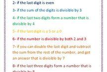 Classroom: math / by Andrea Hees
