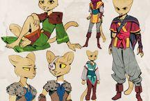Warrior cat (fursuit) for Isilde