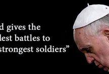 Pope Francis / by MaryBeth Baudendistel