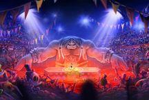 Rayman Legends - Artworks & Review