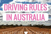 Road trips | AUSTRALIA / Australia is just about perfect for road trips! Routes, ideas and inspiration on where to go and what to do.