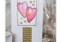 Handmade cards / Käsintehtyjä kortteja / Unique cards Handmade by Heidi. Every item is hand painted and one of a kind! / Uniikkeja kortteja Handmade by Heidi. Jokainen kuva-aihe on käsinmaalattu ja ainutkertainen!