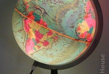 North South East & West / maps globes directions compasses / by Sam Harland