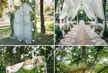 Sfeer: wedding garden