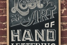Typography ¤//¤ / by Emmanuelle Eschembrenner