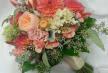 Bouquets by Durocher Florist / Wedding designs by Heather Sullivan AIFD, CFD at Durocher Florist / by Durocher Florist