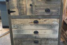 eski tahta mobilya