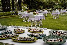 Las Estaciones de Sushi Deluz / Te organizamos unas mesas de sushi preciosas para que tus invitados disfruten de una fiesta japonesa en lo mejor de Deluz: El Jardín.