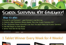 Buy.com School Survival Kit / by Shell Foster