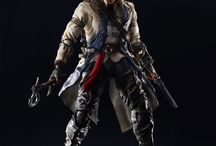 Assassin´s Creed III Play Arts Kai Action Figure Connor Kenway 28 cm / Assassin´s Creed