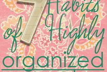 Organization & Home Tips
